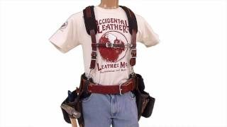 occidental leather tool vest. 1:38; occidental leather hip buddies leather\u0027s #9008 buddies! we have taken the belt technology from our most comfortable adjust-to-fit™ tool vest